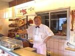 Hanns Stähle aus Burrweiler, ehemals SF – Freiburg auf dem Kunigundenmarkt am Sonntag,29.11.15