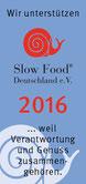 Entwicklung der Sponsoren, Unterstützer von Slow FoodPfalz